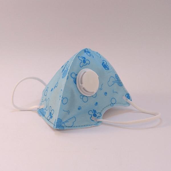 Kinder Mund-Nasen Maske mit Ventil