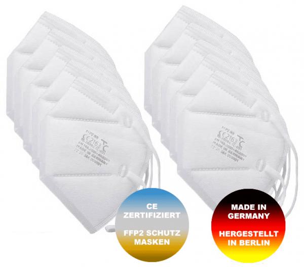 FFP2 Mund-Nasen-Schutz Masken Made In Germany / 5 Stück