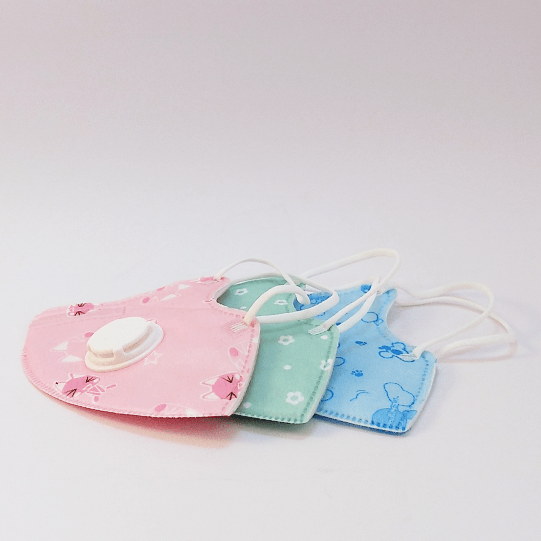 N95 PM2.5 (~ FFP2) Kinder Atemschutz-Maske mit Ventil ...